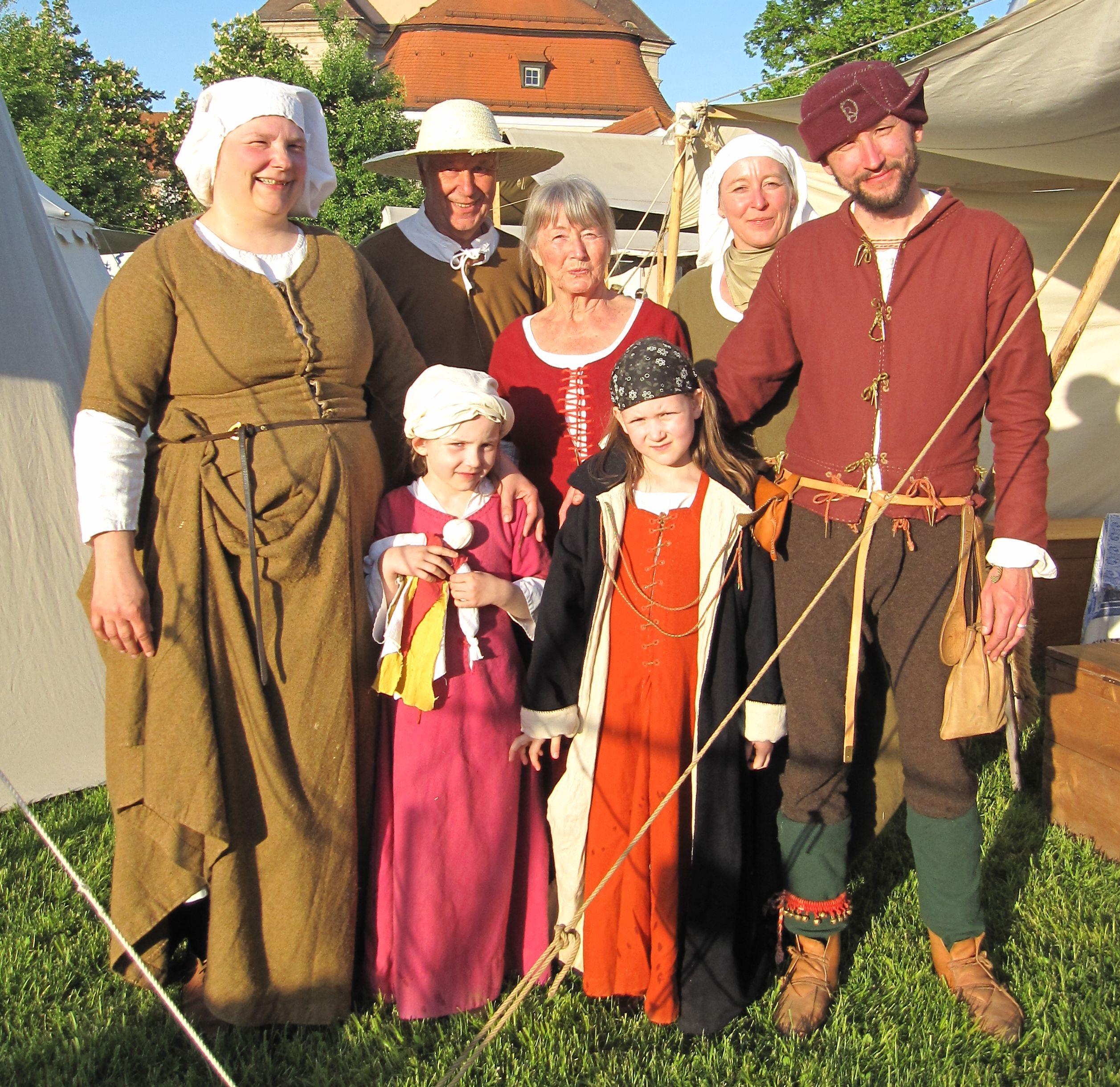 3 Generationen der Familie Brundelius in Ulm Wiblingen