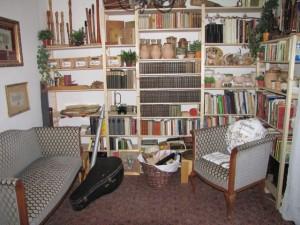 Bücherecke im neuen Wohnzimmer