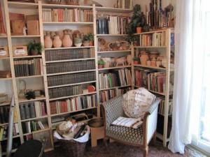 Leseecke im neuen Wohnzimmer